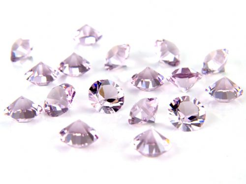 Pk 100 Swarovski Unfoiled Table Crystals, Style 1088, SS24 (5.5mm), Light Amethyst